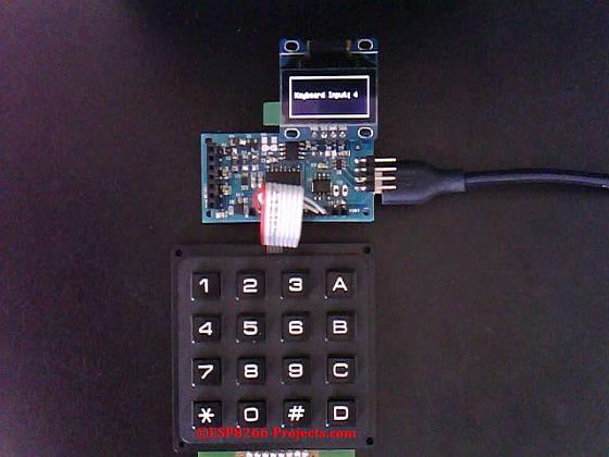 Mailbag – 4×4 Matrix Keyboard for ESP8266 nEXT EVO Board
